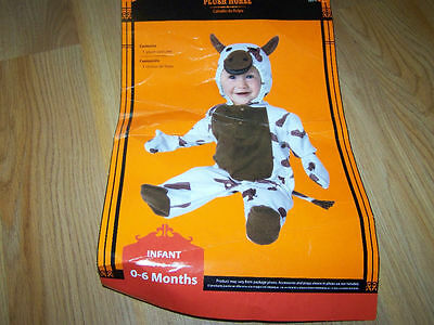 Infant Size 0-6 Months Western Spotted Paint Horse Pony Halloween Costume EUC - Western Baby Halloween Costumes