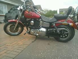 Harley Davidson fxdl