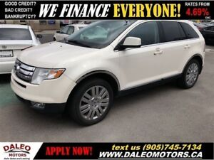 2008 Ford Edge LIMITED | AWD | LEATHER | 114KM! | PANO ROOF