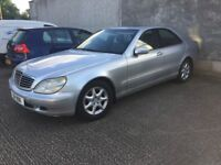 Mercedes S320 CDI Diesel Automatic 2001.