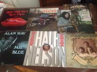 US press original Nashville Country Folk album records