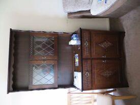 Dark Wood Dresser - Dining Room/Lounge