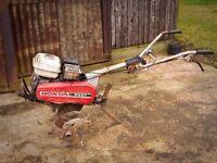 Honda Petrol Cultivator / Rotovator F501