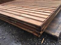 Heavy duty fence panels, Brown pressure treat, all sizes available, collection/delivery.