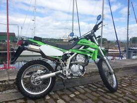 Kawasaki klx 250 road legal new price