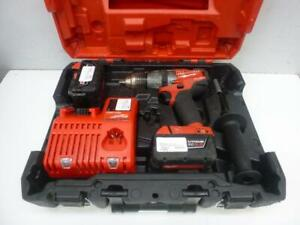 Milwaukee M18 Fuel Hammer Drill Kit - We Buy and Sell Contractor Tools at Cash Pawn - 114333 - AL418405