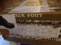 Rock Foot Safety Work Boots Size 11