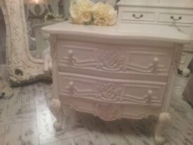 french shabby chic ornate drawers