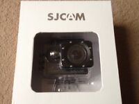 ( With box ) SJCAM SJ5000+ plus 1080p wifi action sport camera + accessories ( needs a new charger )