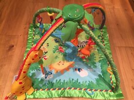 Fisher-Price Rainforest Melodies & Lights Deluxe Gym - IT'S IMMACULATE!