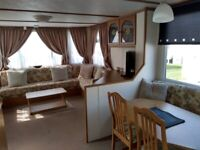 2,6 berth static Caravans for rent let hire on Seaview Ingoldmells Skegness Fantasy Island.