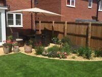 Rattan Effect 6 seater garden patio set