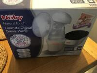 Nuby ultimate digital breast pump