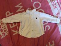 Ralph Lauren shirt 6 months