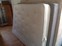 2 double bed mattresses