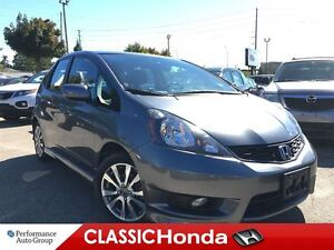 2014 Honda Fit SPORT ONE OWNER 5-SPEED BLUETOOTH ALLOYS