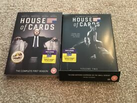 House of Cards series 1 and 2 DVD