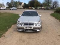 Mercedes clk55 amg auto