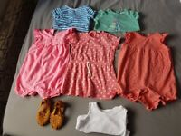 6-9m baby girls clothes (22 items)