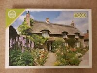 Cottage 1000 piece jigsaw puzzle