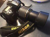 Nikon D90 WITH Tamron 55-200 Zoom Lens