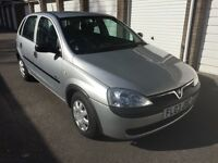 Low mileage 2003 Vauxhall Corsa with long MOT