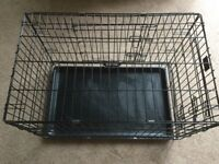 Lazy Bones Strong Wire Pet Carrier, Crate or Den Size 2