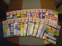 Full set of Computeractive magazines for 2016