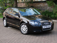 FINANCE AVAILABLE!!! 2008 AUDI A3 1.6 SPORTBACK SPECIAL EDITION 5dr, FSH, 1 FORMER KEEPER, LONG MOT