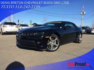2014 Chevrolet Camaro 2LT CUIR CONVERTIBLE GROUPE RS!!