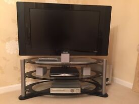 Flat screen tv with stand