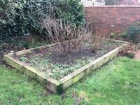 10 railway sleepers - identical, good condition