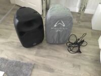 Wharf dale pro 12 active Titan powered speakers
