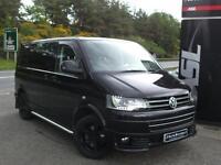 VOLKSWAGEN TRANSPORTER 2.0 BiTDI 180PS Sportline Kombi Van (black) 2013