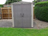 keter gemini 6 x 6 garden shed