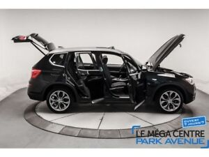 2015 BMW X3 xDrive28i AWD, CUIR, CAMERA, TOIT, BLUETOOTH