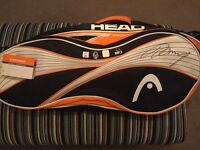 Andy Murray signed Head racket bag