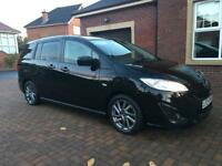 Sept 2012 Mazda 5 1.6 diesel Venture 7 seater people carrier (not SMax, Galaxy)
