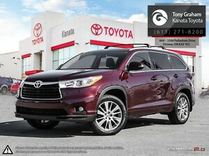 2015 Toyota Highlander XLE 4WD+Leather+Sunroof