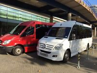 17 seater minibus hire with driver for any occasion call Gill 07812701482 any time