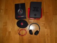 Price reduced - Beats Solo2 wired by Dr Dre in Gloss Black, boxed plus carry case.
