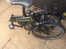 Dahon Vybe d6 - folding bike