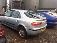 2003 Renault laguna, 1.9 diesel, breaking for parts only, all parts available