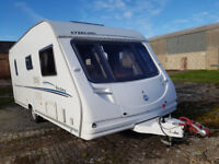 Sterling Eccles Jewel 2007 touring caravan for sale