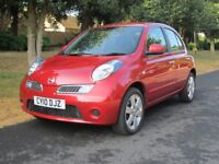 Low Mileage Nissan Micra Automatic 5 door in Exception Condition with Full Nissan History.
