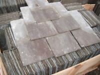 RECLAIMED WELSH SLATES , CLAY TILES , STONE FLAGSTONES SALVAGE OLD BRICKS FLOORBOARDS BUILDING STONE
