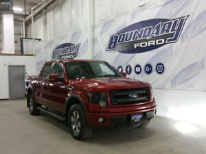 2014 Ford F-150 FX4 W/ Leather, Sunroof, HID Headlamps