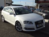 2012 AUDI A3 1.6 TDI SPORT SPORTBACK 5DR BEST COLOR WHITE !! DIESEL £30 A YEAR TAX