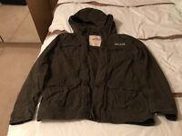 Mens large hollister jacket for sale