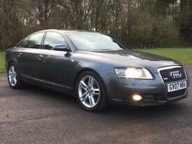 AUDI A6 S-LINE, LE MANS, QUATTRO, 35k NEW, 2 OWNERS, LUXURY, SPORT, NOT BMW 520, 530